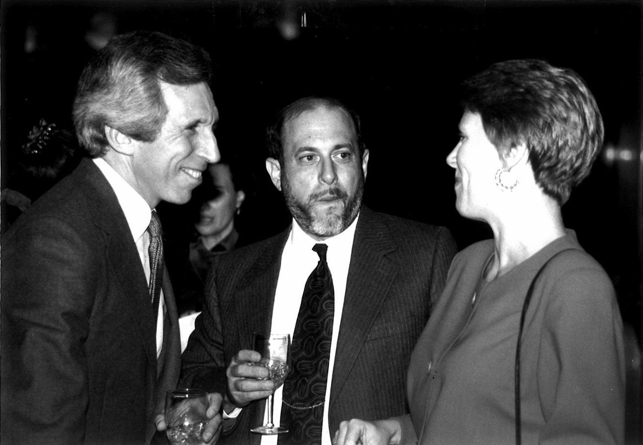 Elisabeth Bumiller, Robert Siegel of NPR