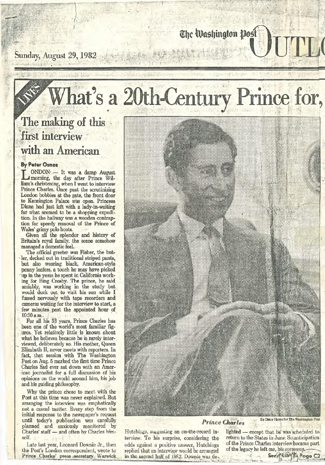 What's a 20th-Century Prince for?
