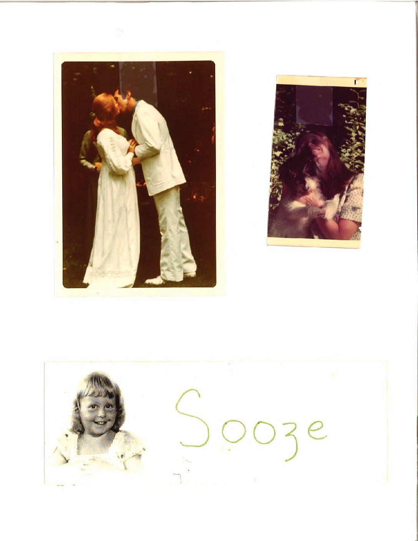 Sooze, Rumple, and a wedding kiss