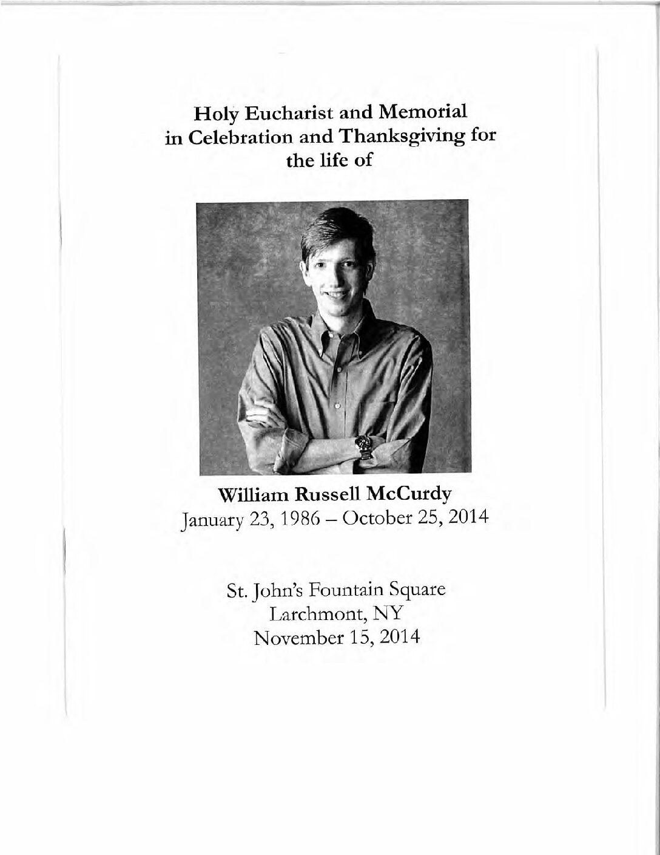 Will McCurdy, a beloved battler